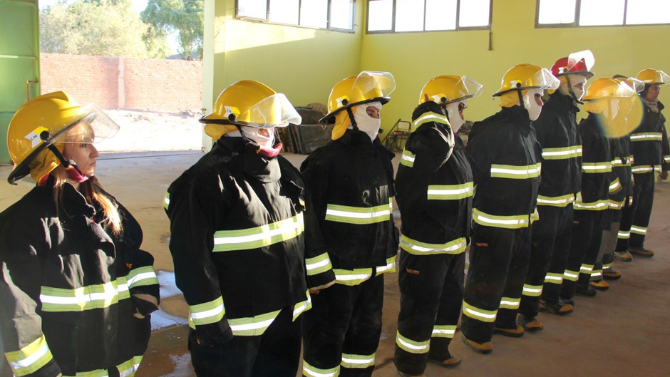 argentina community fire fighters