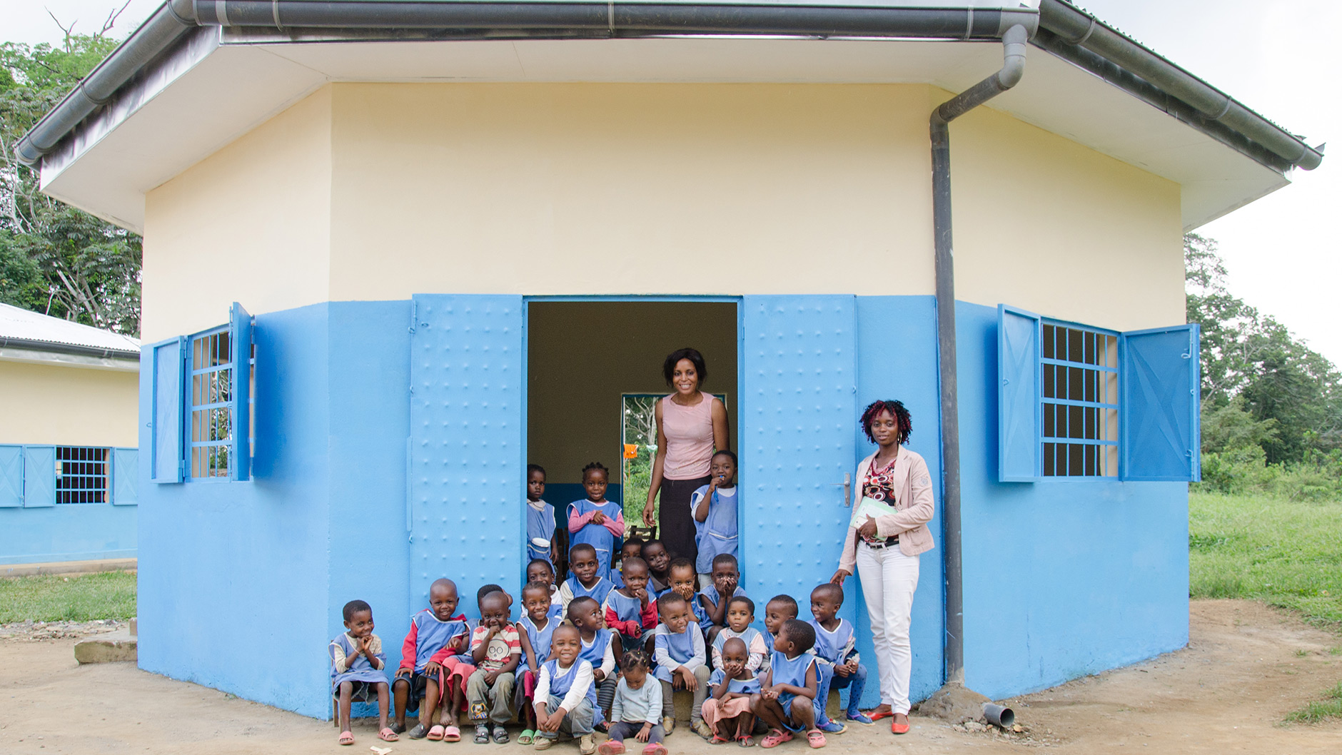 Foyer Ngoyang school upgrades for children