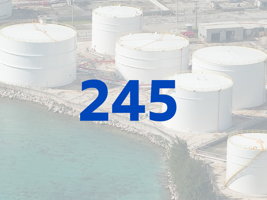 A graphic depicting 245