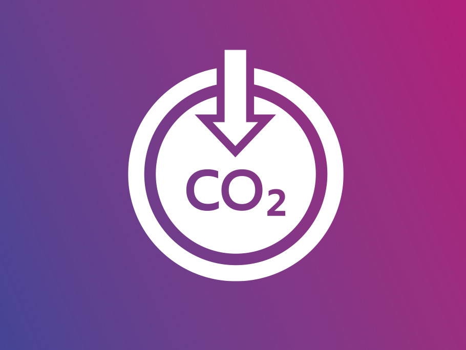 Icon for carbon capture