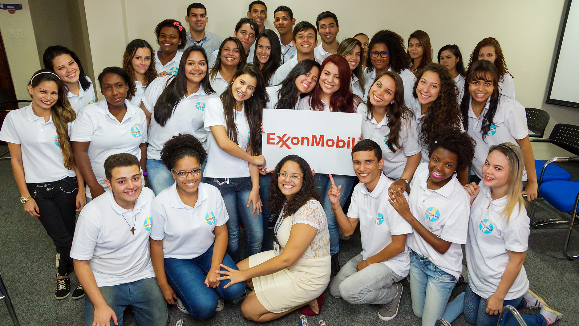 Participants in the ExxonMobil Mais Program.