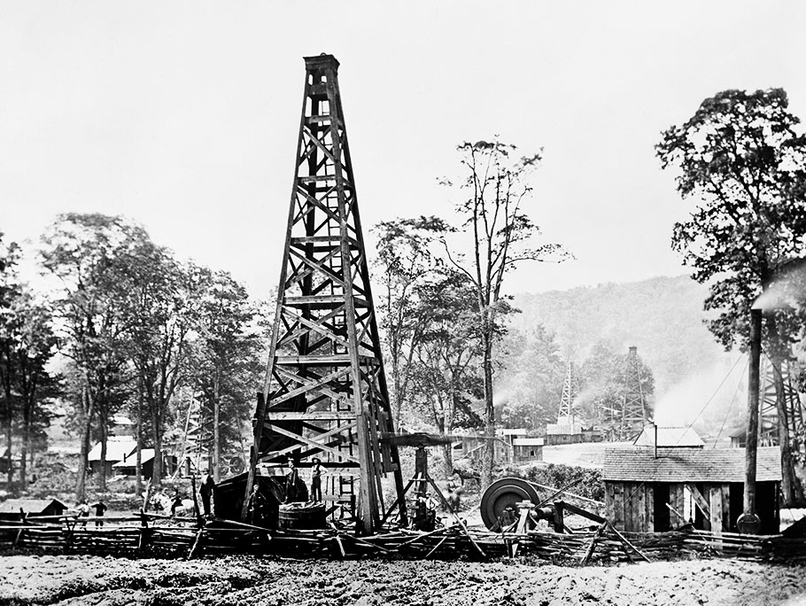 1927 oil field Sugarland, Texas