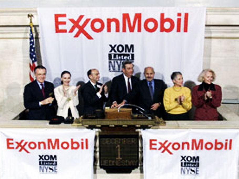 1999 Exxon Mobil Corporation founding
