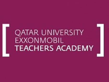 qatar university exxonmobil teachers academy logo