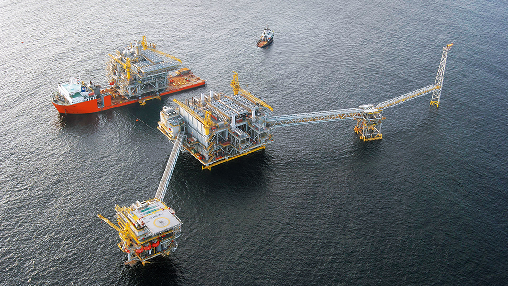NGL facility offshore Nigeria.