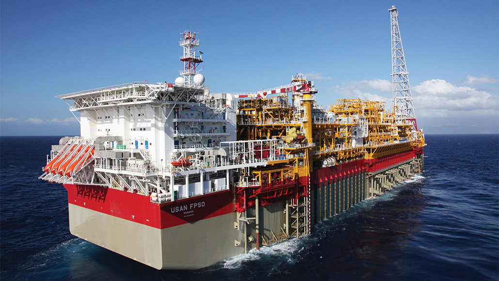 USAN FPSO facility in the Gulf of Guinea.
