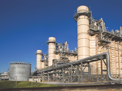 Beaumont cogeneration plant