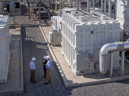 carbon capture fuel cell technology