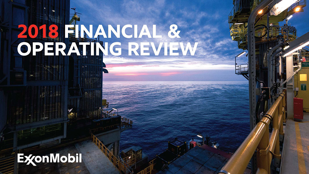 2018 Financial and Operating Review report cover