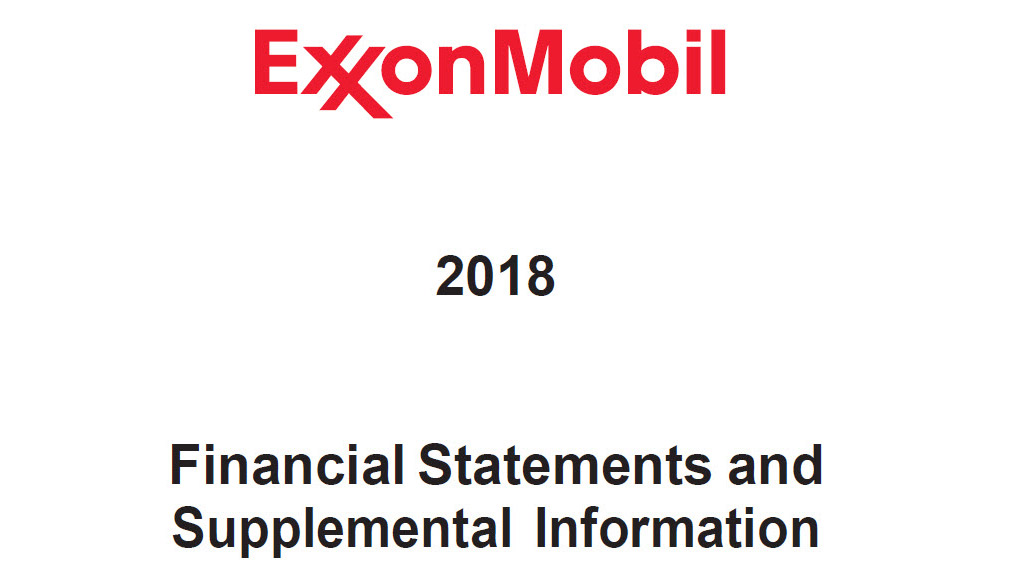 2018 Financial Statements cover image