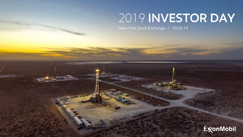 2019 Investor Day presentation - image of Delaware Basin grid