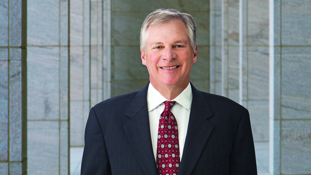 Professional portrait of Exxon Mobil Corporation Director Doug Oberhelman.