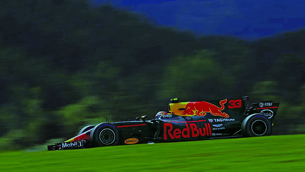 Red Bull Formula One race car.