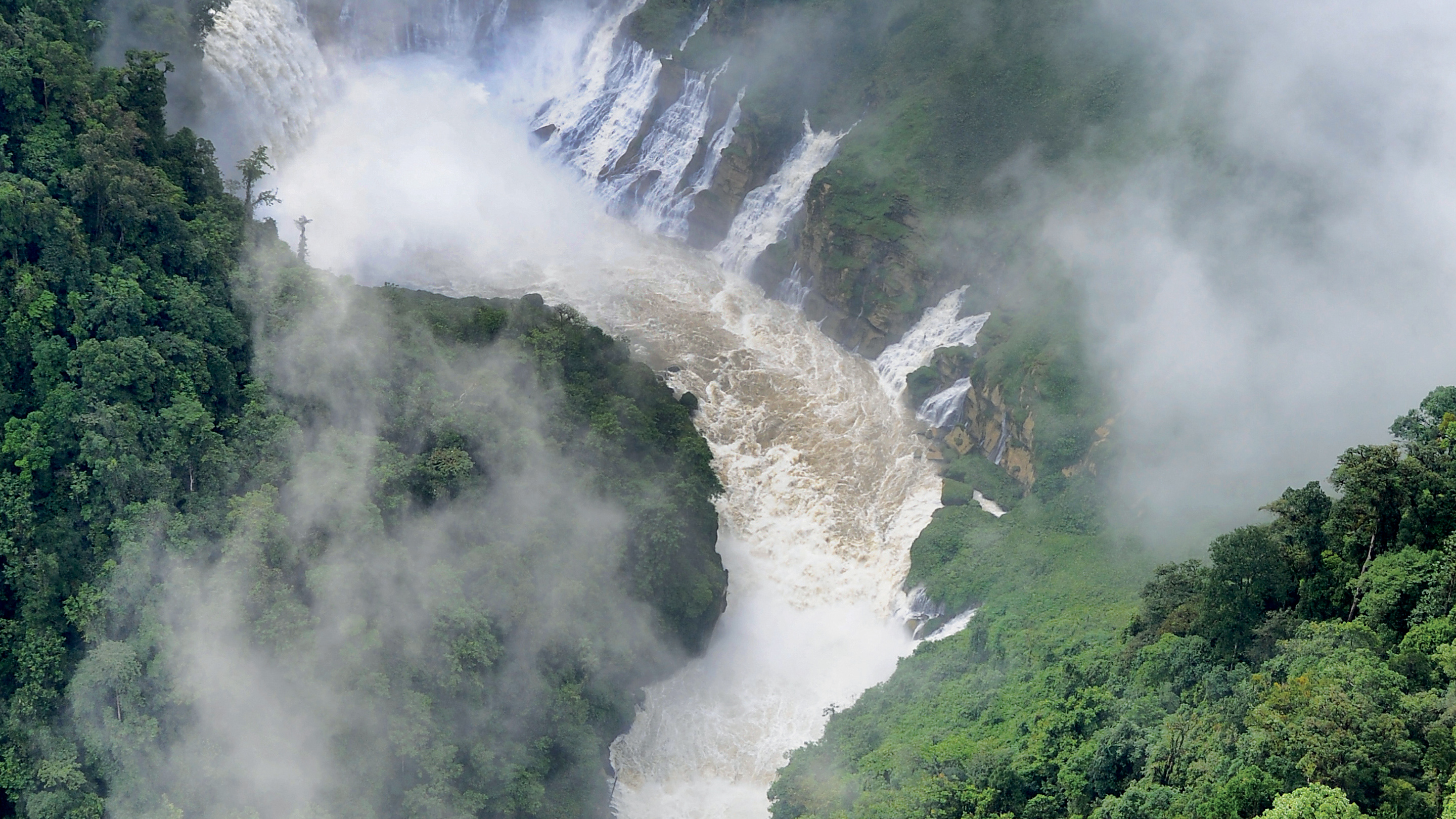 Waterfall in Papa New Guinea
