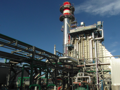 cogeneration facility at Augusta refinery