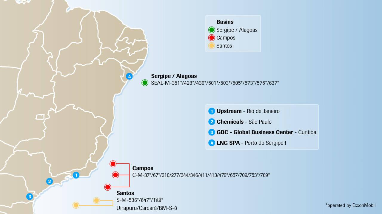 Upstream | ExxonMobil in Brazil